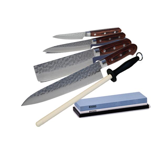 Image of   Elite kokkekniv stort sæt