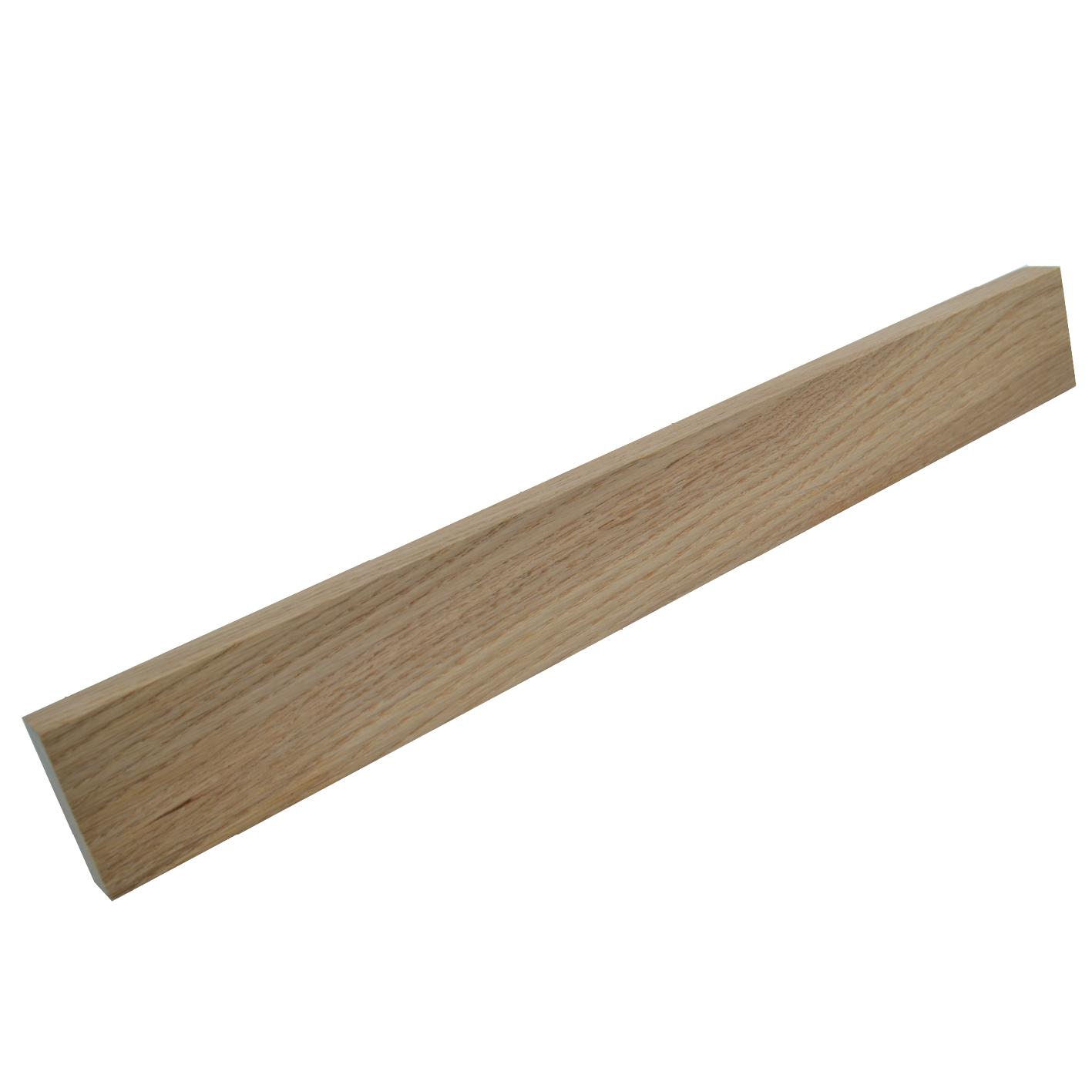 Image of   Knivmagnet i egetræ 7 knive 45 cm